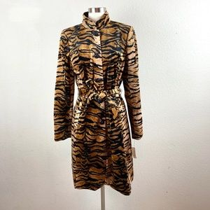 A.B.S Allen Schwartz | Tiger Pattered Coat